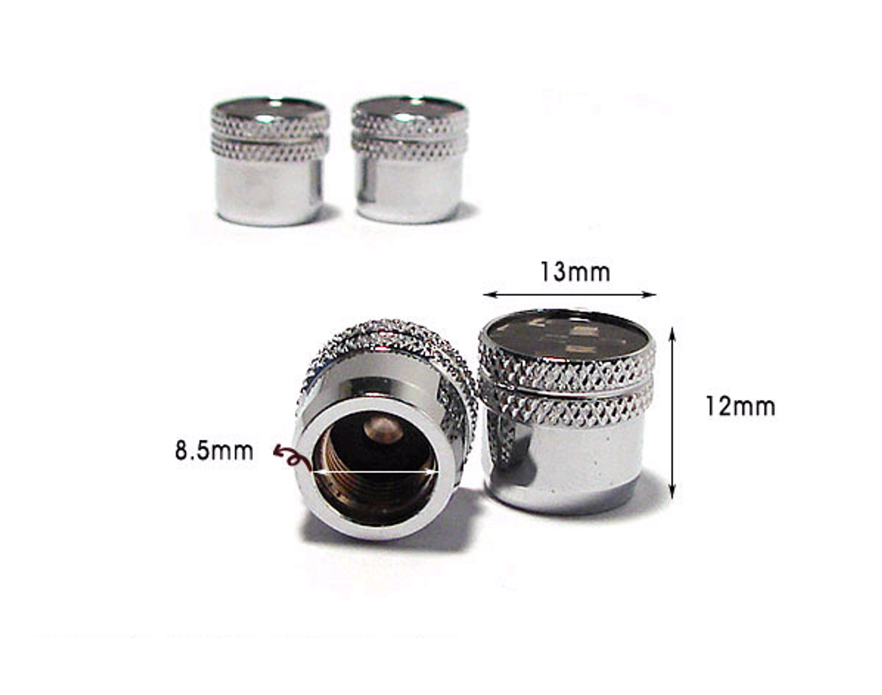 LODEN Genuine Carbon Fiber Valve Stem Caps Set 4pc for ALL YEAR models premium quality zinc