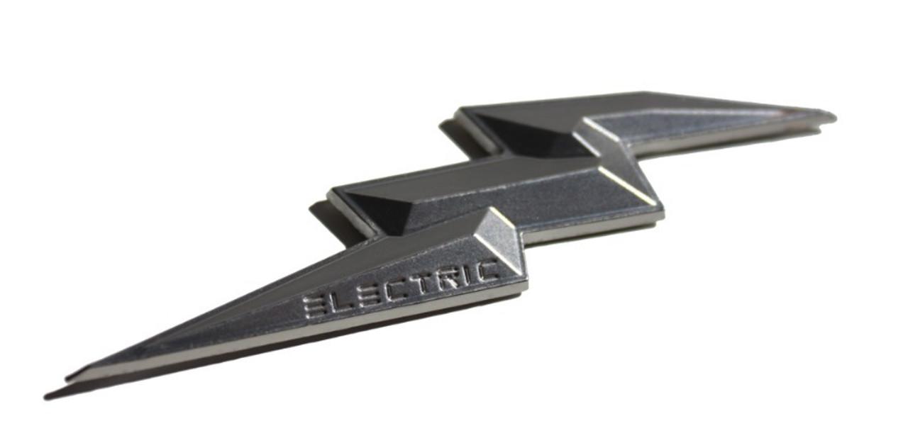 Electric Hybrid Kia Models Emblems Badges Logos Lightening bolt push start button emblem, red green blue black emblems, silver chrome blue green electric bolt emblem
