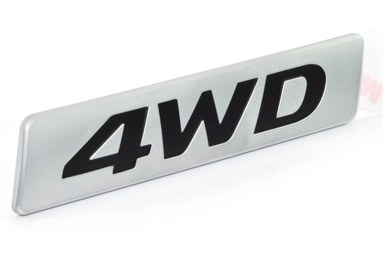 4wd car truck suv emblem