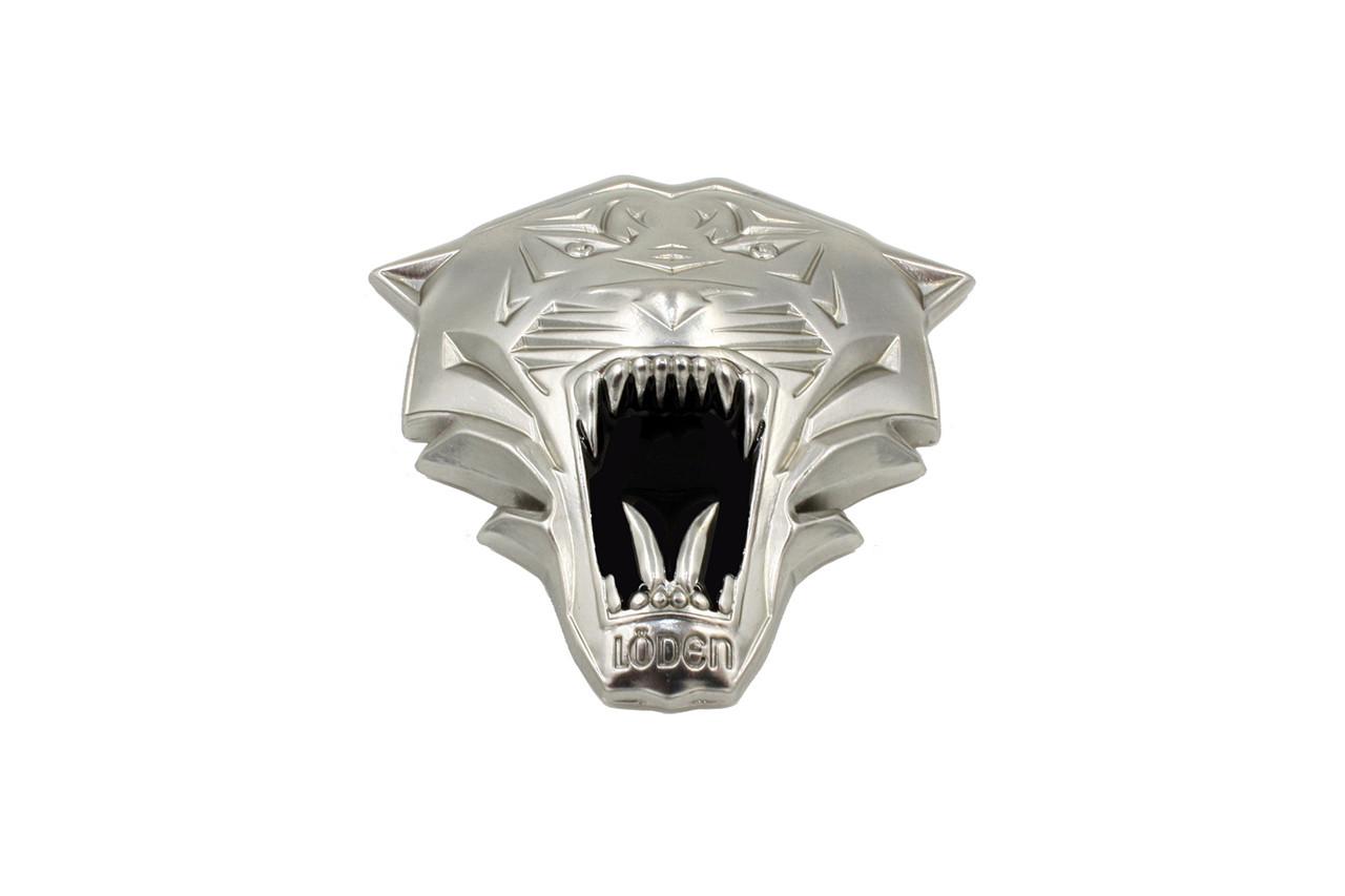 LODEN TIGER 3D Silver Emblem for Hyundai Kia cars trucks and suv badge emblem