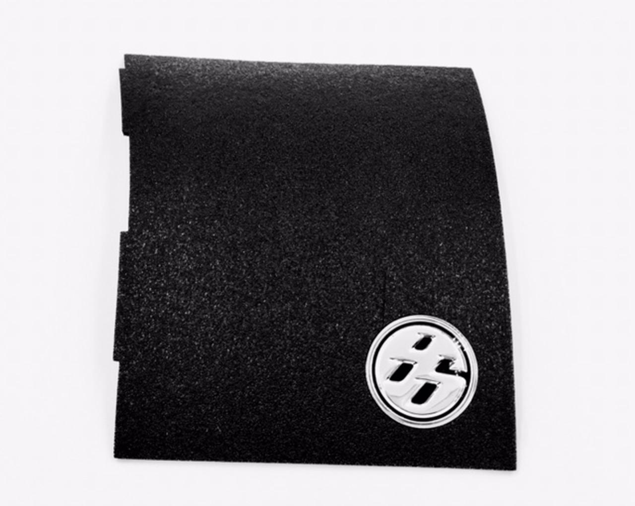 86 Fender Emblem (CHROME/BLACK)