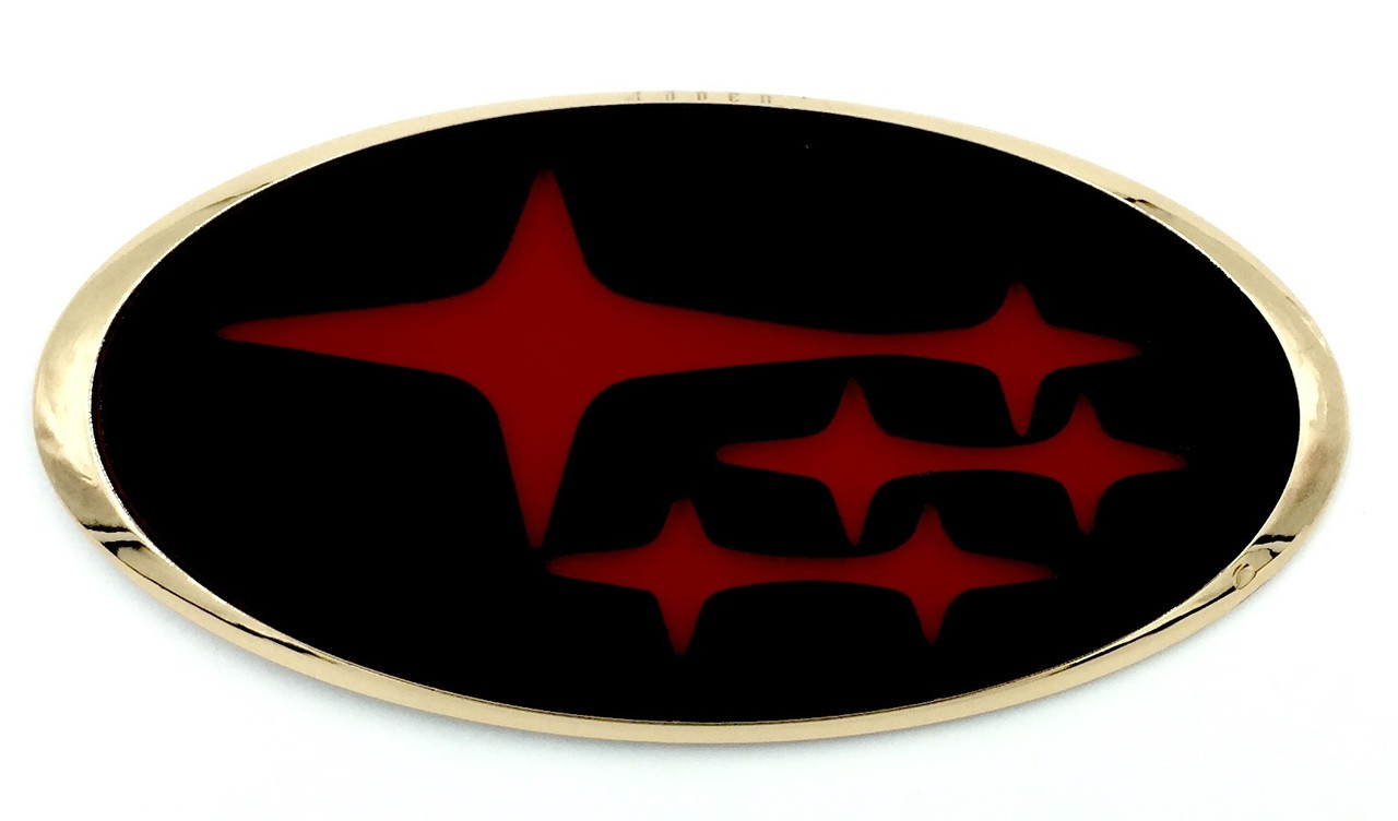 STARS Custom Badges for Subaru BRZ (100+ Colors)