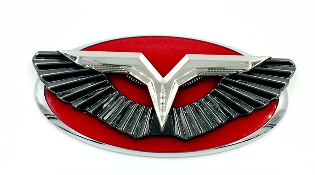 ANZU-T Wing Badge Replacement for Kia Models (100+ Colors)