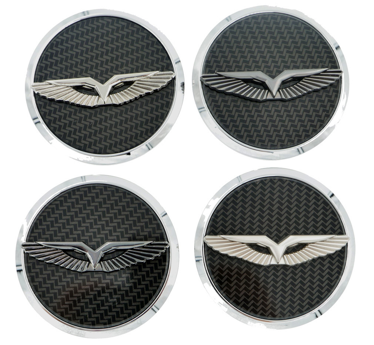 ANZU-T Wheel Cap Emblem Set 4pc Set (5 Colors)
