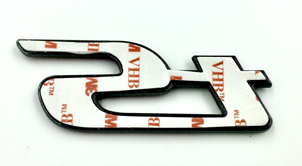 ts Emblem Type 3 (MATTE BLACK)