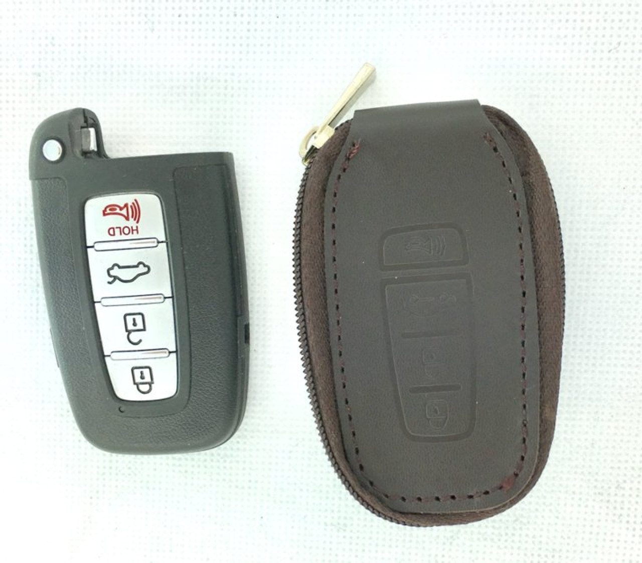 Genesis Wing Logo Leather Key Cases (3 Colors)