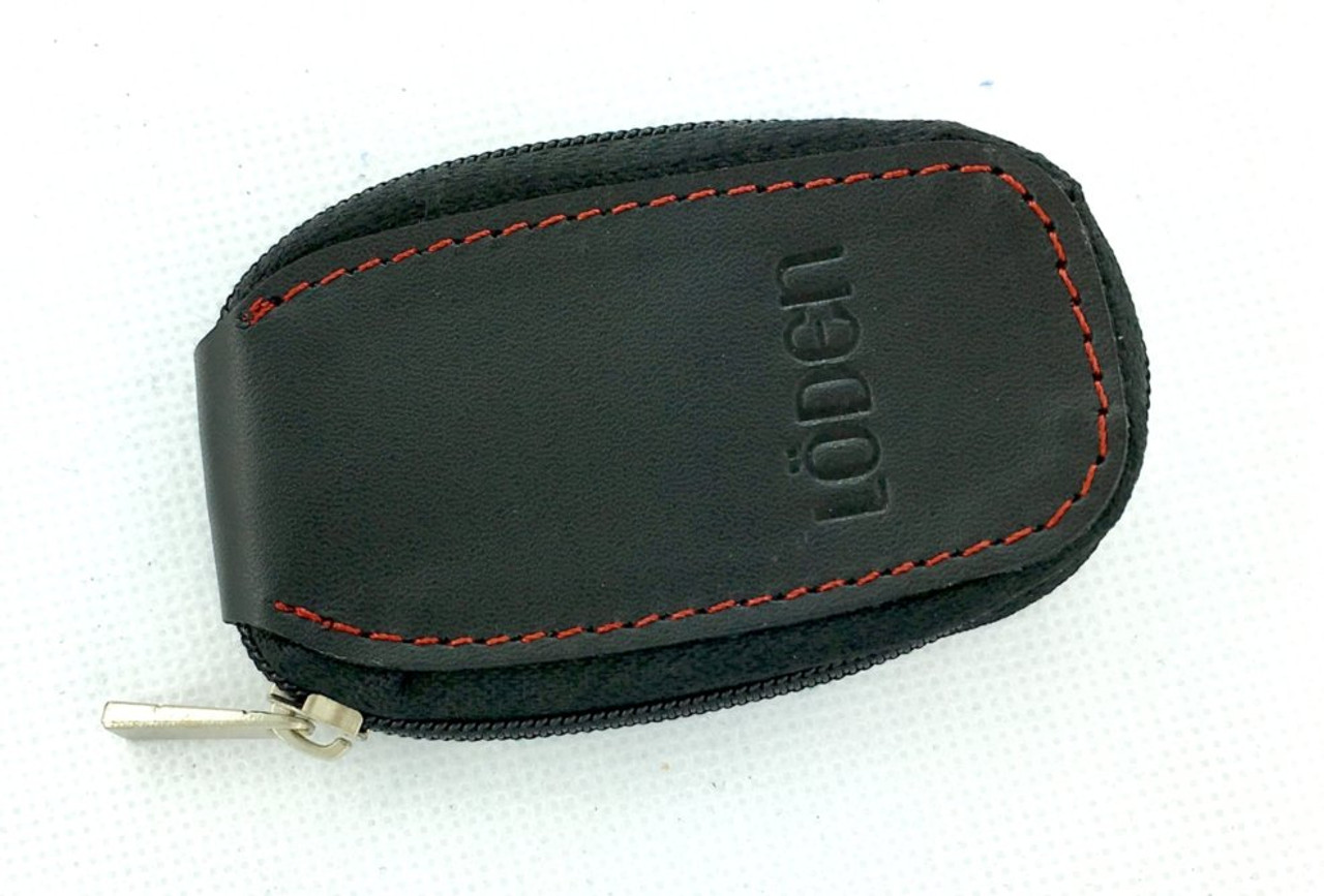 LODEN Logo Leather Key Cases (3 Colors)