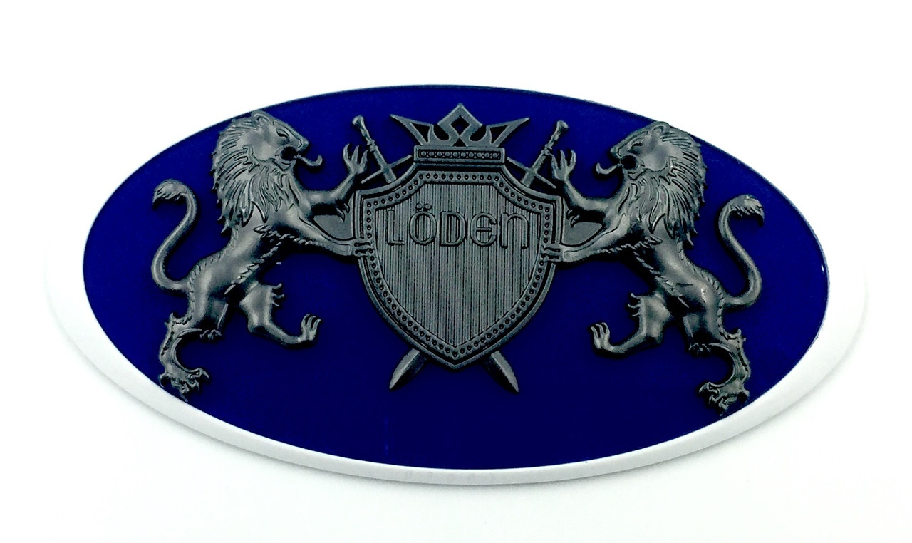 """LION """"Coat of Arms"""" Badges for HYUNDAI Models (100+ Colors)"""