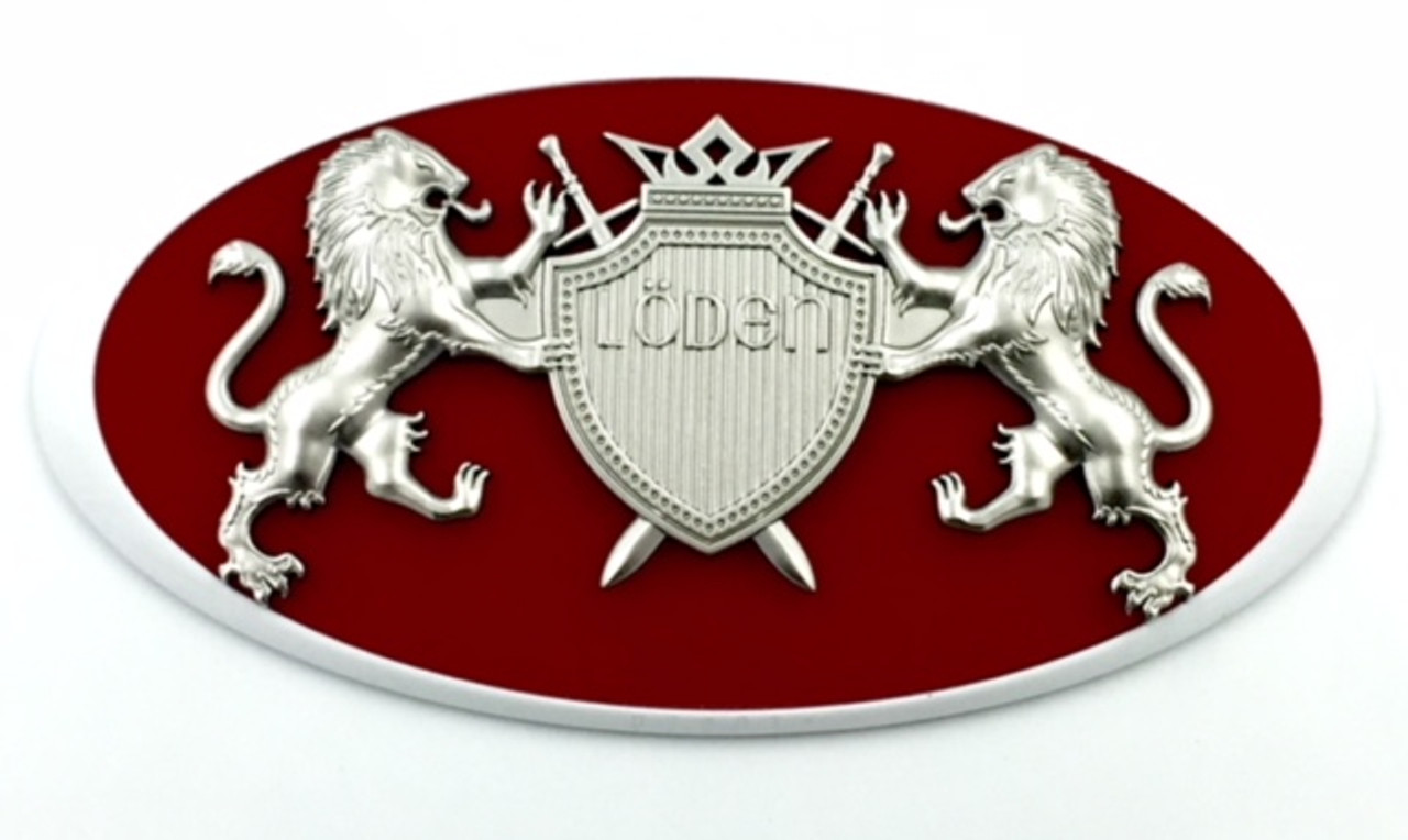 """LION """"Coat of Arms"""" Badges for FORD Models (100+ Colors)"""