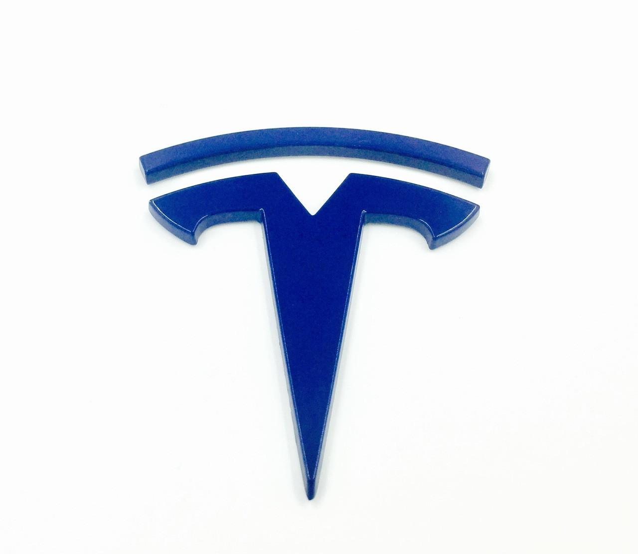 T Badge Model 3 FRONT (Custom Colors)