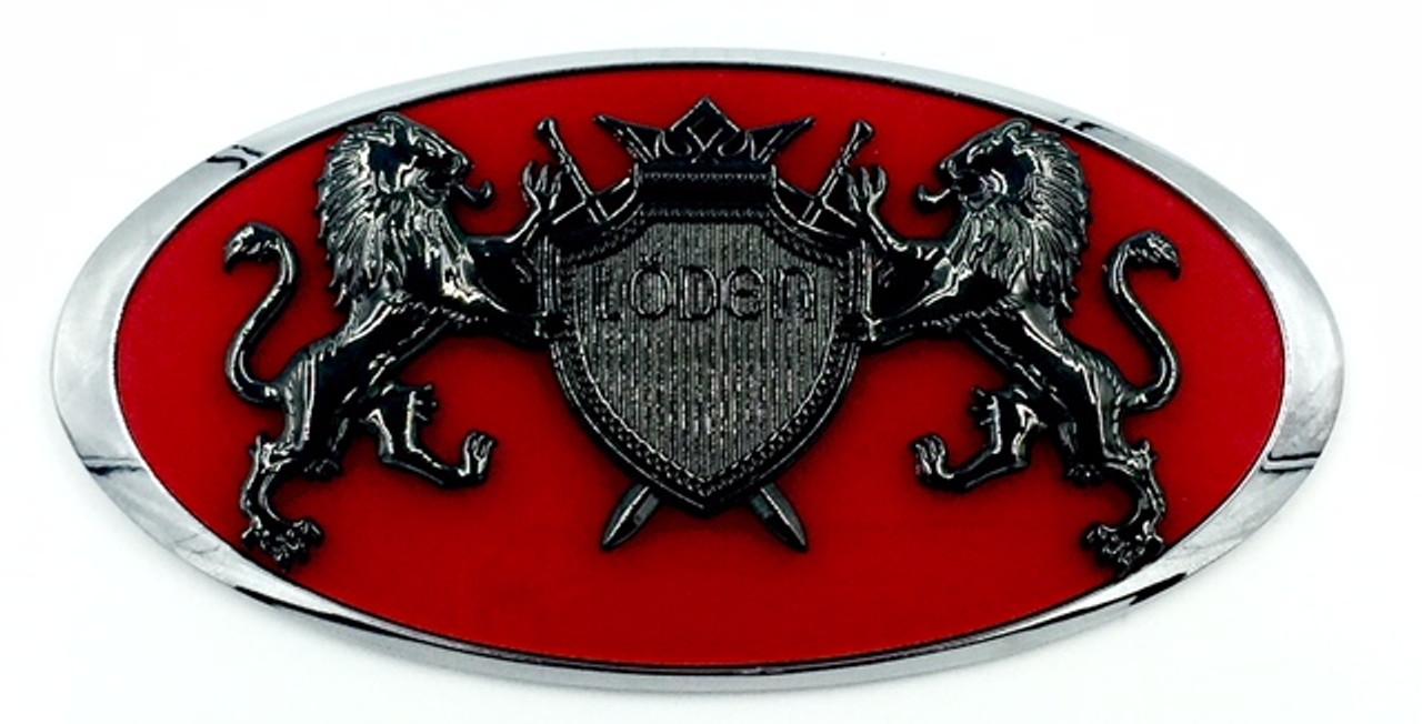 """LION """"Coat of Arms"""" Badges for Subaru Crosstrek (100+ Colors)"""