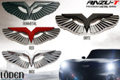 Loden Anzu T-wing badges, Wing badges, Wing Emblems. Loden Wing, Metal Wing Emblem for cars, automotive wings, aston martin look wing emblem, Kia Niro 2017 2018, Kia Amanti Opirus 2004 2005 2006, Kia Amanti Opirus 2007 2008 2009, Kia Borrego Mohave 2009 2010 2011 2012 2013 2014 2015 2016 2017, Kia Cadenza K7 2009 2010 2011 2012 2013, Kia Cadenza K7 2014 2015 2016 2017 2018,  Kia Ceed 2008 2009 2010 2011 2012, Kia Pro Ceed, Kia Pro-Ceed GT 2013 2014 2015 2016 2017 2018, Kia Forte Sedan 2009 2010 2011 2012 2013, Kia Forte Sedan 2014 2015 2016 2017 2018, Kia Forte Koup 2010 2011 2012 2013, Kia Forte Koup 2014 2015 2016 2017 2018,  Kia Forte Hatchback 5dr 2010 2011 2012 2013 2014 2015 2016, Kia Optima 2001 2002 2003 2004 2005 2006, Kia Optima 2006.5 2007 2008 2009 2010, Kia Optima K5 2011 2012 2013, Kia Optima K5 2014 2015, Kia Optima K5 2016 2017 2018, Kia Optima K5 Sportswagon GT 2017 2018 2019 Kia Picanto 2006 2007 2008 2009 2010, Kia Picanto 2011 2012 2013 2014, Loden Anzu T-wing badges, Wing badges, Wing Emblems. Loden Wing, Metal Wing Emblem for cars, automotive wings, aston martin look wing emblem Kia Picanto 2015 2016 2017 2018, Kia K900 Quoris K9 2014 2015 2016 2017 2018, Kia Ray, Kia Rio Pride 2004 2005 2006 2007 2008 2009, Kia Rio Pride 2010 2011, Kia Rio Sedan 2012 2013 2014 2015, Kia Rio Hatchback 5dr 2012 2013 2014 2015 Kia Rio K2 Sedan 2016 2017 2018, Kia Rio K2 Hatchback 5dr 2016 2017 2018, Kia Rondo Carens 2006 2007 2008 2009 2010 2011 2012 2013, Kia Rondo New Carens 2014 2015 2016 2017 2018, Kia Sedona Carnival  2002 2003 2004 2005, Kia Sedona Carnival 2006 2007 2008 2009 2010 2011 2012 2013 2014,  Kia Sedona Carnival YP 2015 2016 2017 2018, Kia Sorento 2002 2003 2004 2005 2006, Kia Sorento 2007 2008 2009, Kia Sorento 2010 2011 2012 2013, Kia Sorento 2014 2015, Kia Sorento 2016 2017 2018, Kia Soul 2008 2009 2010 2011, Kia Soul 2012 2013, Kia Soul 2014 2015 2016 2017 2018, Kia Sportage 2005 2006 2007 2008, Kia Sportage 2009 2010, Kia Sportage 2011 2012 2013 2014 2015 Loden Anzu T-wing badges, Wing badges, Wing Emblems. Loden Wing, Metal Wing Emblem for cars, automotive wings, aston martin look wing emblem Kia Sportage QL 2016 2017 2018, Kia Spectra 2004 2005 2006, Kia Spectra 2007 2008 2009, Kia Venga Emblems Badges Logo