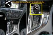 Kia Optima K5 K Shift knob emblem overlay 2011 2012 2013