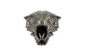 LODEN TIGER 3D Black Chrome Emblem for Hyundai Kia cars trucks and suv badge emblem