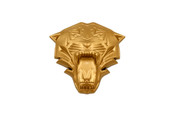 LODEN TIGER 3D GOLD Emblem for Hyundai Kia cars trucks and suv badge emblem