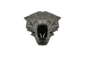 LODEN TIGER 3D Gunmetal Emblem for Hyundai Kia cars trucks and suv badge emblem