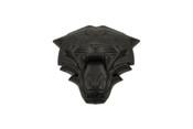 LODEN TIGER 3D Matte Black Emblem for Hyundai Kia cars trucks and suv badge emblem