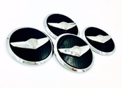 Vision G Concept Wheel Cap Emblems 4pc (3 Colors)