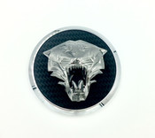 TIGER Wheel Cap Emblem Set 4pc (5 Colors)