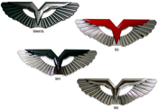 Loden Anzu T-wing badges, Wing badges, Wing Emblems. Loden Wing, Metal Wing Emblem for cars, automotive wings, aston martin look wing emblem, Kia Niro 2017 2018, Kia Amanti Opirus 2004 2005 2006, Kia Amanti Opirus 2007 2008 2009, Kia Borrego Mohave 2009 2010 2011 2012 2013 2014 2015 2016 2017, Kia Cadenza K7 2009 2010 2011 2012 2013, Kia Cadenza K7 2014 2015 2016 2017 2018,  Kia Ceed 2008 2009 2010 2011 2012, Kia Pro Ceed, Kia Pro-Ceed GT 2013 2014 2015 2016 2017 2018, Kia Forte Sedan 2009 2010 2011 2012 2013, Kia Forte Sedan 2014 2015 2016 2017 2018, Kia Forte Koup 2010 2011 2012 2013, Kia Forte Koup 2014 2015 2016 2017 2018,  Kia Forte Hatchback 5dr 2010 2011 2012 2013 2014 2015 2016, Kia Optima 2001 2002 2003 2004 2005 2006, Kia Optima 2006.5 2007 2008 2009 2010, Kia Optima K5 2011 2012 2013, Kia Optima K5 2014 2015, Kia Optima K5 2016 2017 2018, Kia Optima K5 Sportswagon GT 2017 2018 2019 Kia Picanto 2006 2007 2008 2009 2010, Kia Picanto 2011 2012 2013 2014, Loden Anzu T-wing badges, Wing badges, Wing Emblems. Loden Wing, Metal Wing Emblem for cars, automotive wings, aston martin look wing emblem Kia Picanto 2015 2016 2017 2018, Kia K900 Quoris K9 2014 2015 2016 2017 2018, Kia Ray, Kia Rio Pride 2004 2005 2006 2007 2008 2009, Kia Rio Pride 2010 2011, Kia Rio Sedan 2012 2013 2014 2015, Kia Rio Hatchback 5dr 2012 2013 2014 2015 Kia Rio K2 Sedan 2016 2017 2018, Kia Rio K2 Hatchback 5dr 2016 2017 2018, Kia Rondo Carens 2006 2007 2008 2009 2010 2011 2012 2013, Kia Rondo New Carens 2014 2015 2016 2017 2018, Kia Sedona Carnival  2002 2003 2004 2005, Kia Sedona Carnival 2006 2007 2008 2009 2010 2011 2012 2013 2014,  Kia Sedona Carnival YP 2015 2016 2017 2018, Kia Sorento 2002 2003 2004 2005 2006, Kia Sorento 2007 2008 2009, Kia Sorento 2010 2011 2012 2013, Kia Sorento 2014 2015, Kia Sorento 2016 2017 2018, Kia Soul 2008 2009 2010 2011, Kia Soul 2012 2013, Kia Soul 2014 2015 2016 2017 2018, Kia Sportage 2005 2006 2007 2008, Kia Sportage 2009 2010, Kia Sportage 2011 2012 