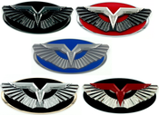 ANZU-T Wing Badge Replacement for Hyundai Models (100+ Colors)