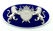 """LION """"Coat of Arms"""" Badges for KIA Models (100+ Colors)"""