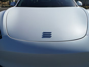 """MODEL 3 FRONT / REAR """"T"""" BADGE REPLACEMENT  (3 Colors)"""