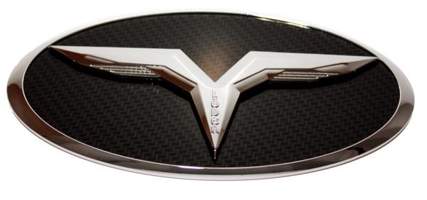 LODEN 3D T Badge for Hyundai models Genesis Coupe Accent Santa Tucson Creta Elanta LF Sonata