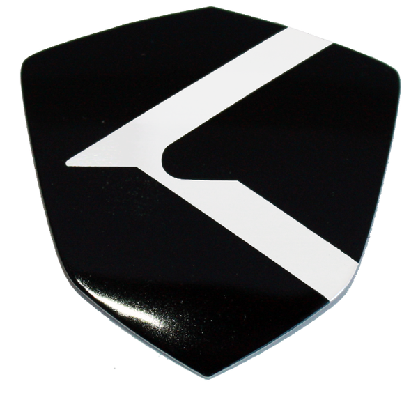 K Shield emblem badge logo for Kia and Hyundai models Optima Cadenza K900 Forte Rio Sorento Sportage