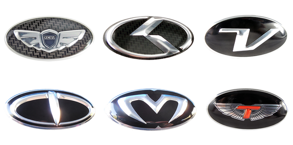 Oval domed metal emblem 60mm x 30mm size, Oval wing logo emblem K logo emblem lexus style oval emblem V oval emblem T oval emblem M oval emblem T-wing oval emblem 60mm x 30mm size