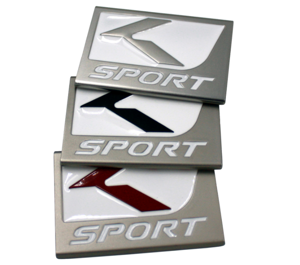 K Sport Lexus F Sport Style emblems badges for any year/make/model