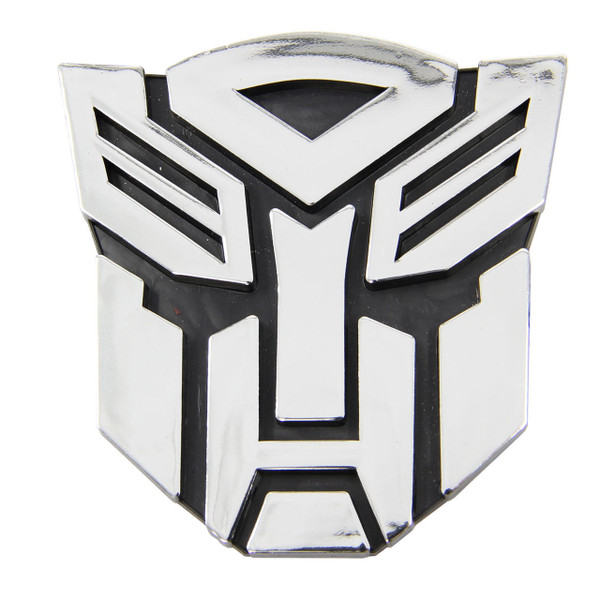 Transformers Autobot Chrome Car Emblem