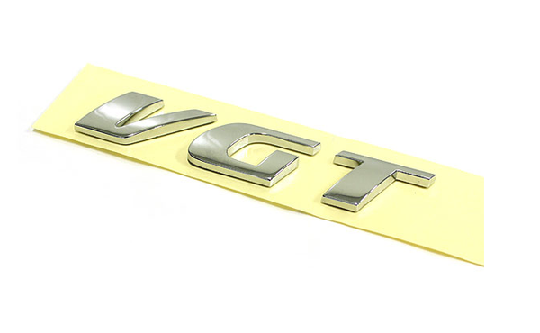 VGT Chrome Emblem
