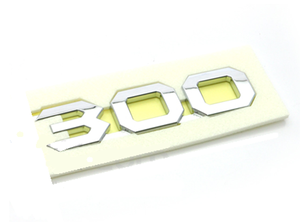 300 emblem ABS chrome plated car emblem