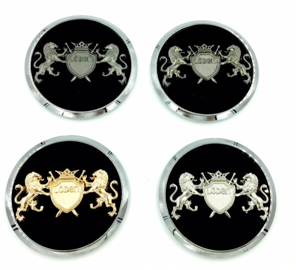 "LION ""Coat of Arms"" Wheel Cap Emblem Set 4pc for GM Models  (5 Colors)"