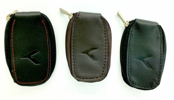 K Logo Leather Key Cases (3 Colors)