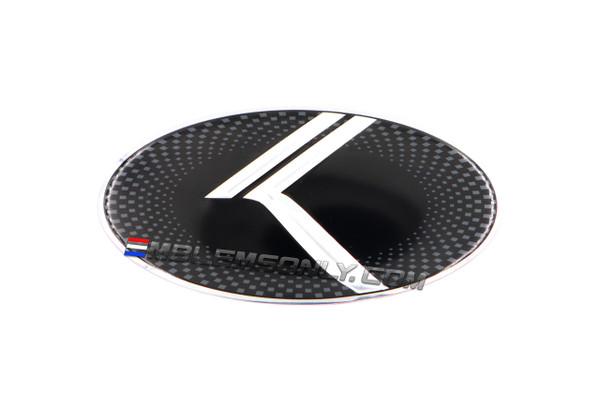 Vintage K Steering Wheel Emblem
