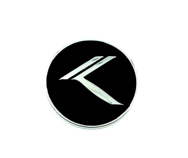 *NEW* ROUND METAL Vintage K Badge (6 Colors)