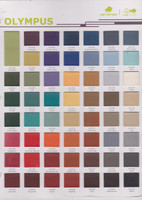 Color Chart for Bio/Omni replacement cushions