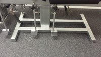 Reconditioned Omni stationary chiropractic table with 4 drops showing kickers