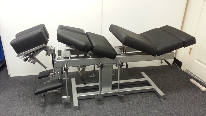 New Omni Stationary Chiropractic Table