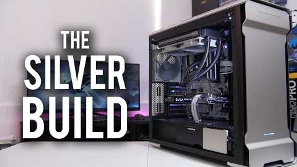 "BitWit October  PC of the Month ""The SIlver Build"" Cables"