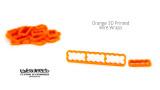 Orange 3D Printed Wire Wrap