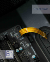 Goldenrod Paracord Sleeved Fan Extension