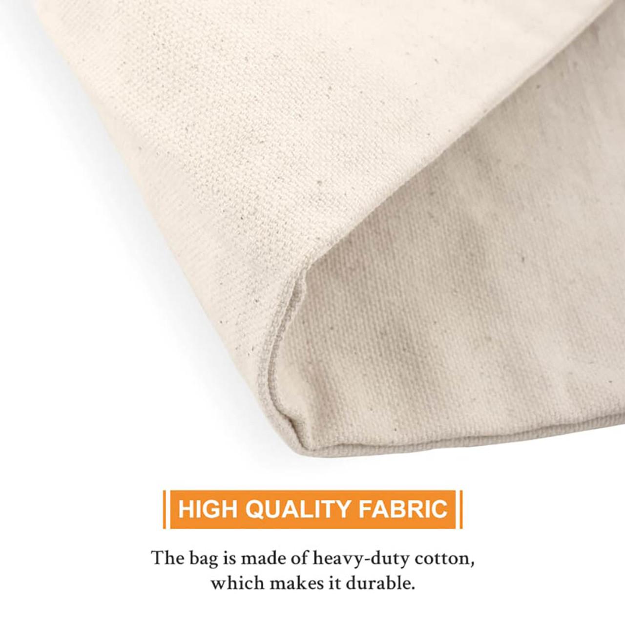 "UBICON Heavy Duty Cotton Bag Medium 8"" x 14"""