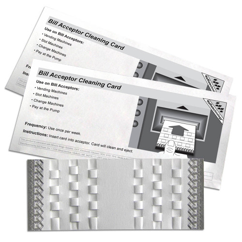 KICTeam KW3-BMB15M Waffletechnology Bill Acceptor Cleaning Card