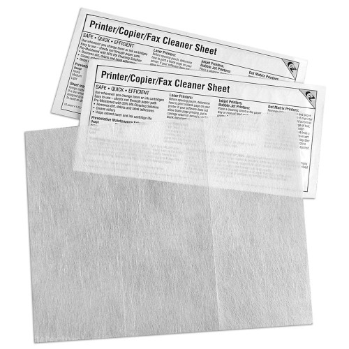 KICTeam K2-PCFF5 Printer/Copier/Fax Cleaner Sheet
