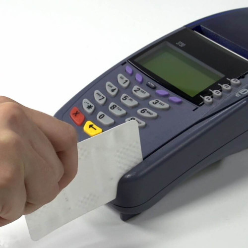 Verifon Payment Terminal Cleaning Card