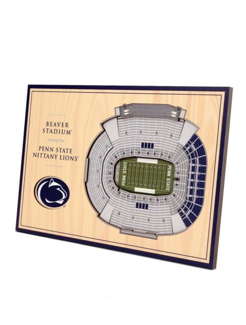 5 Layer Penn State Beaver Stadium 3D Wall Art