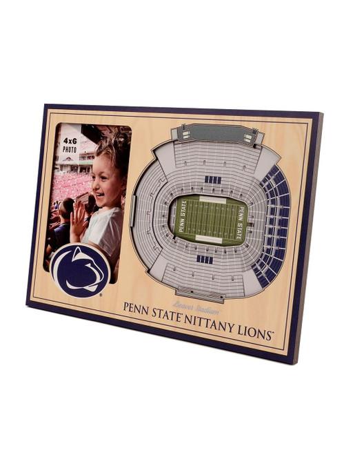 Penn State Beaver Stadium 3D Picture Frame